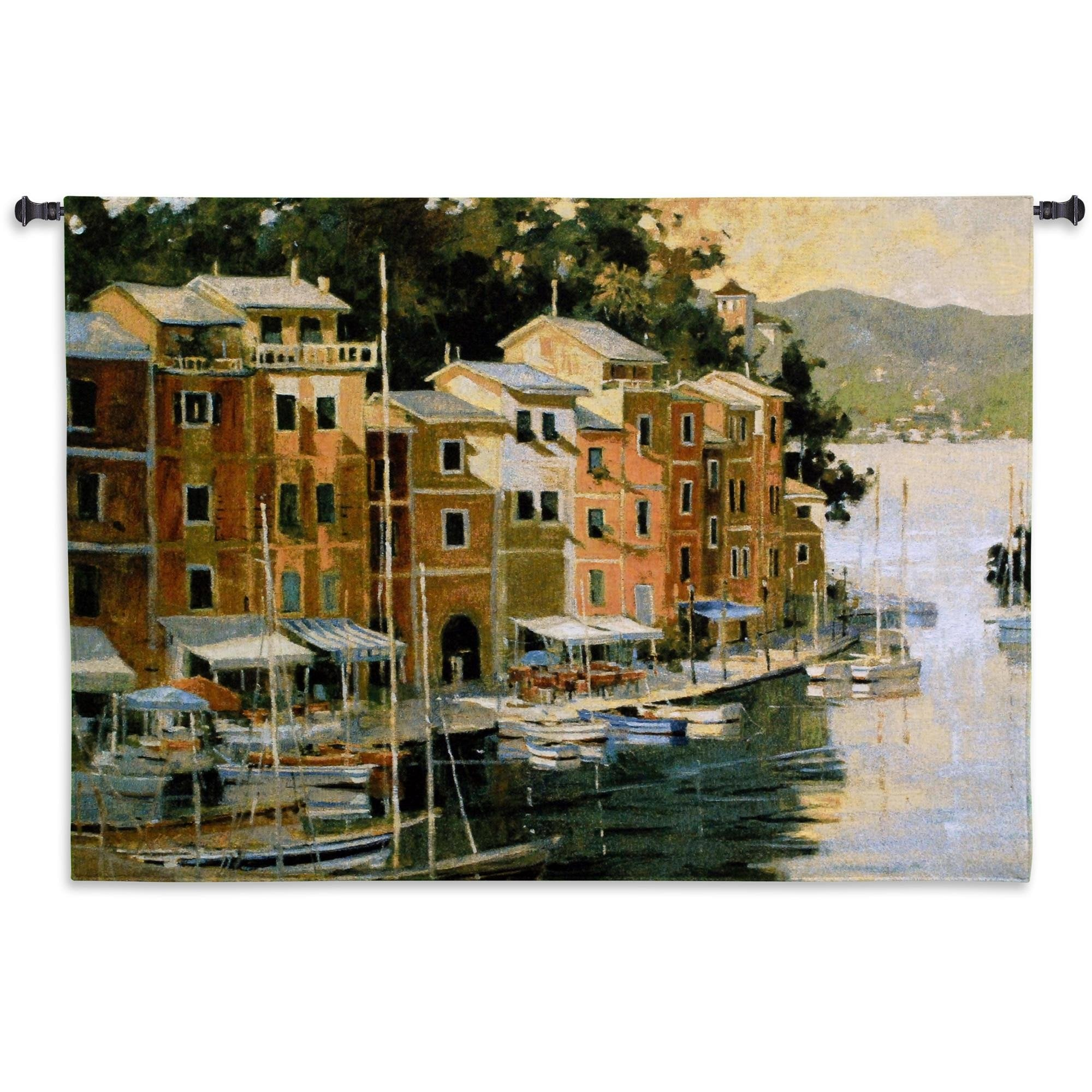 Portofino Italy Wall Decor Tapestry