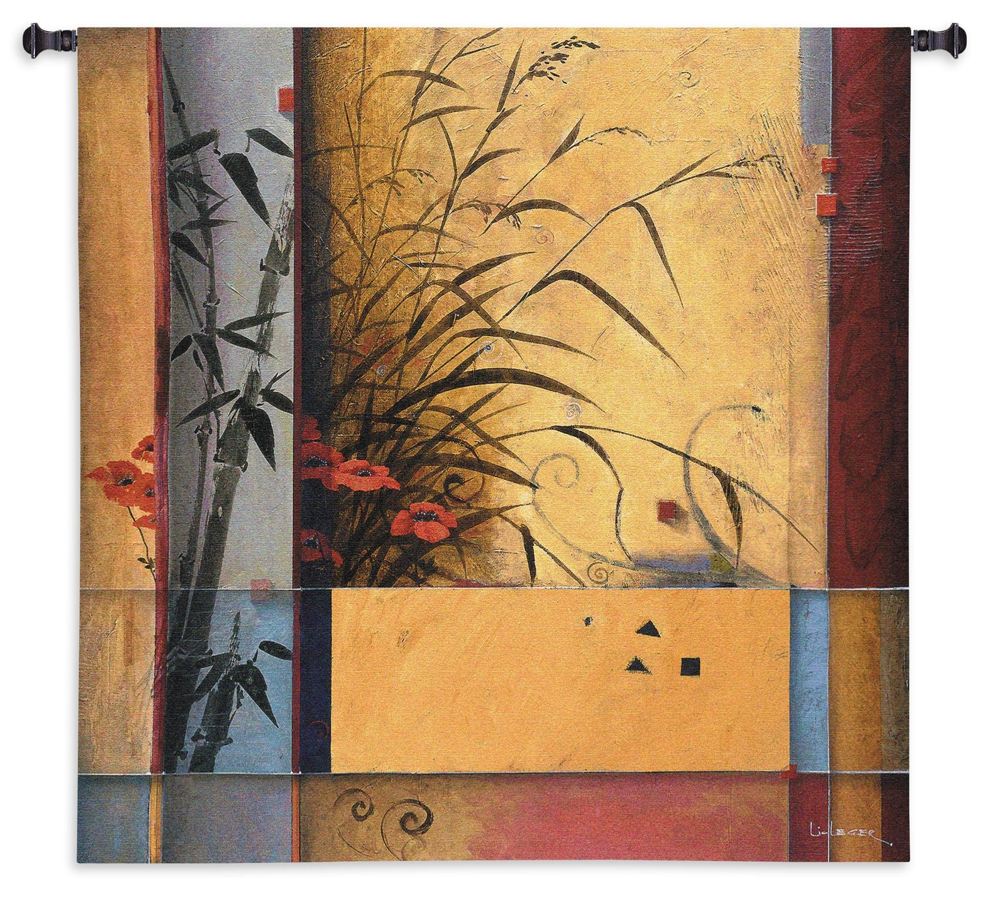 Bamboo Division Wall Hanging Tapestry