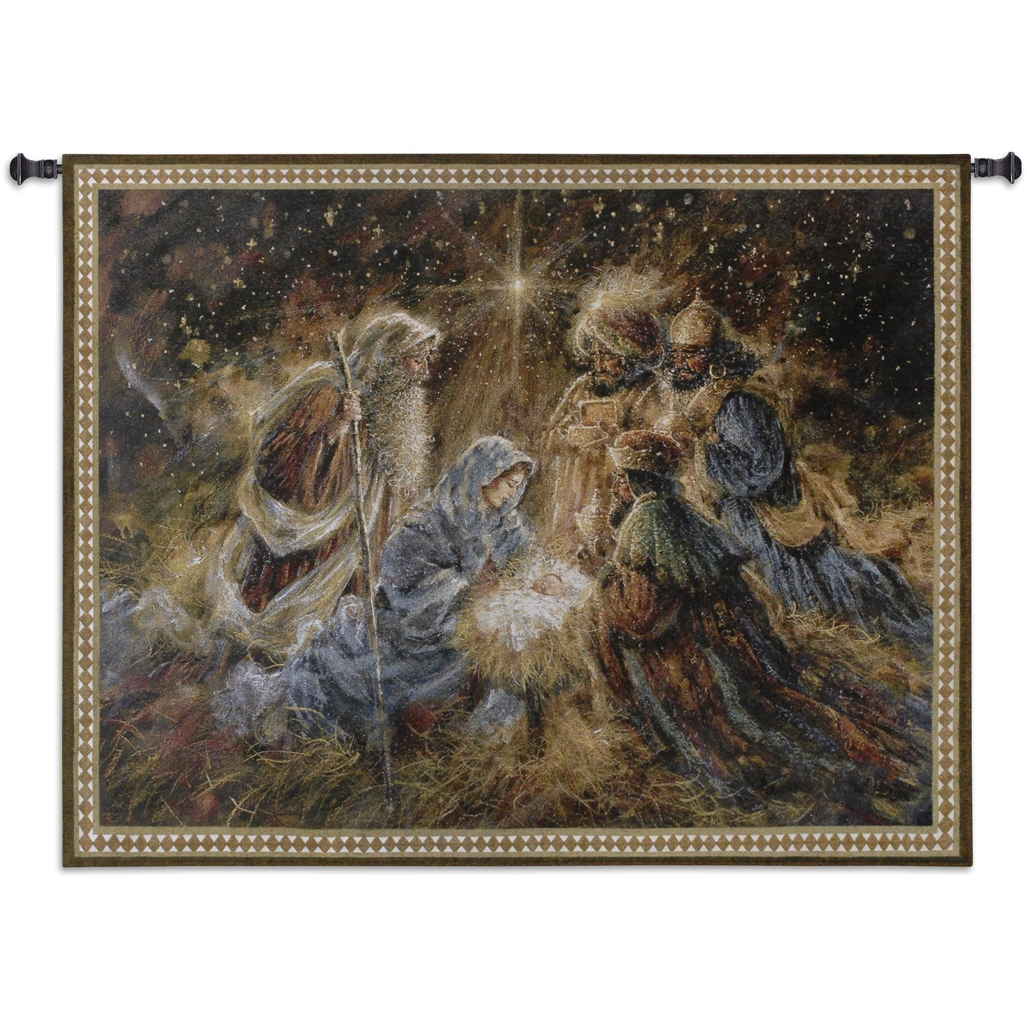 We Three Kings Holiday Wall Tapestry