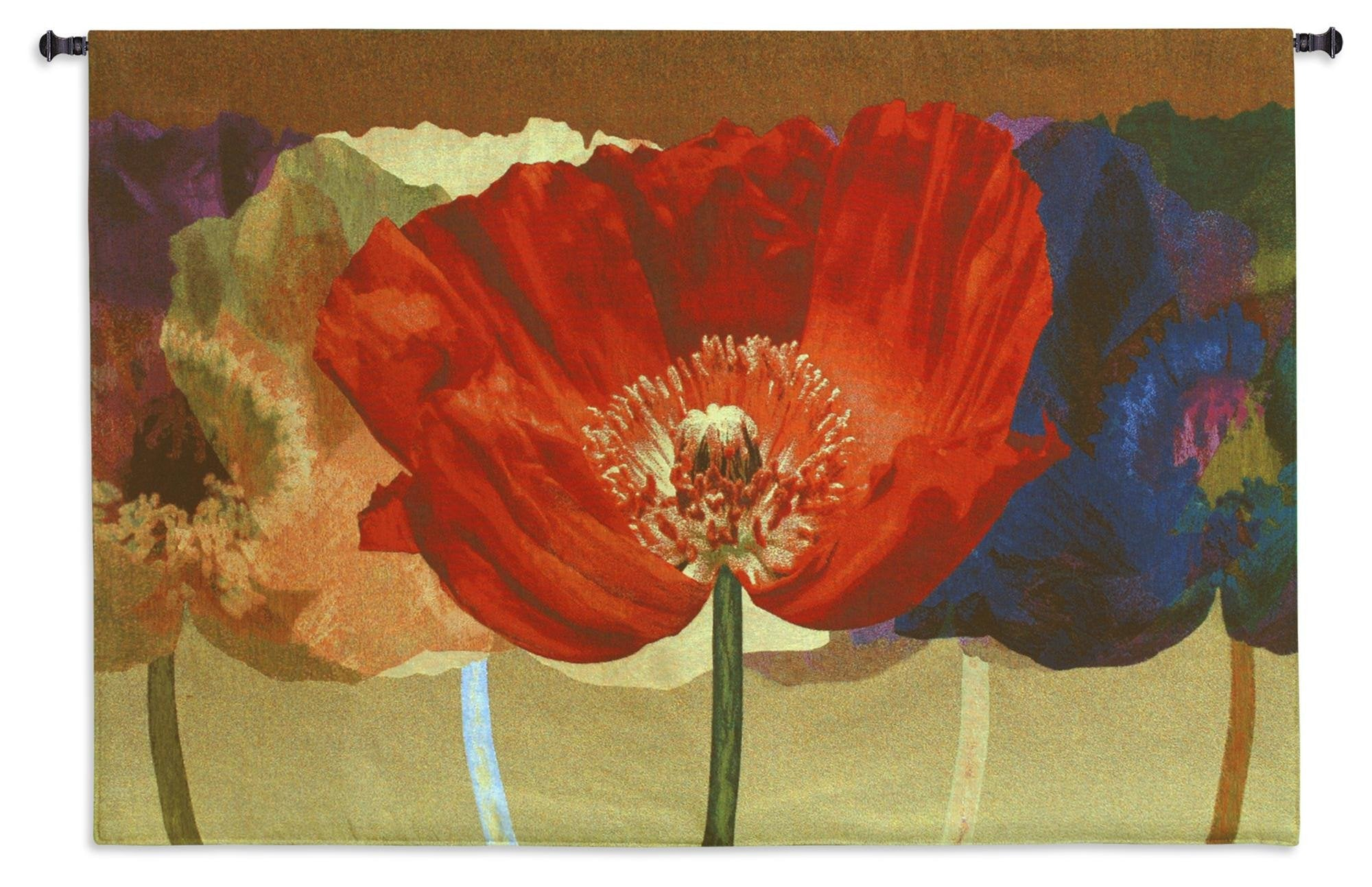 Poppy Tango Flower Wall Hanging