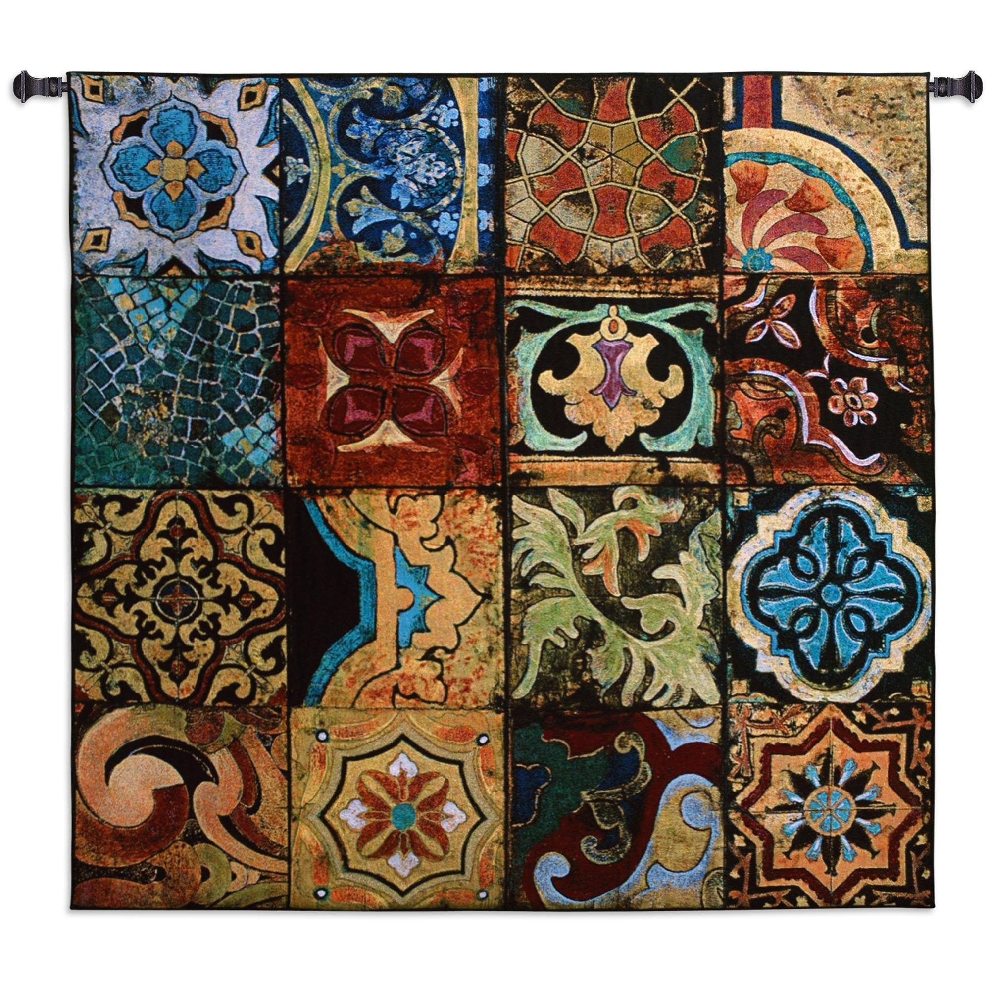 Kaleidoscopic Wall Hanging Tapestry