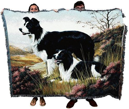 Border Collie Dog Breed Blanket Throw
