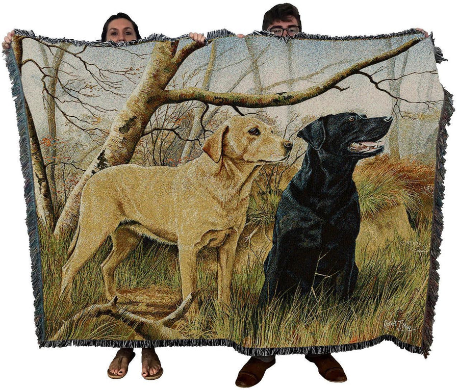 Labrador Retriever Afghan Blanket