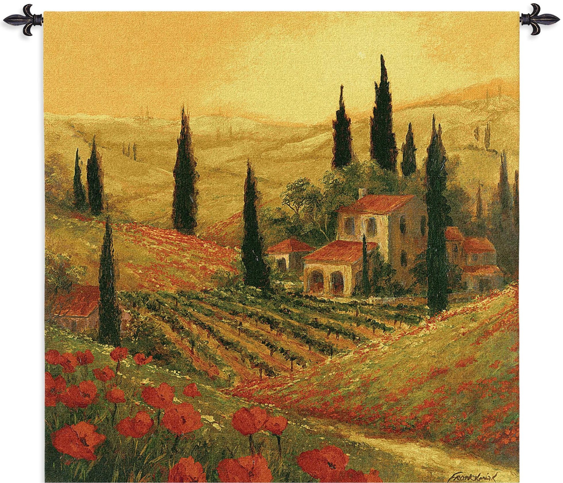 Italian Tuscan Wall Tapestry