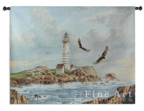 Boston Lighthouse Wall Hanging Tapestry
