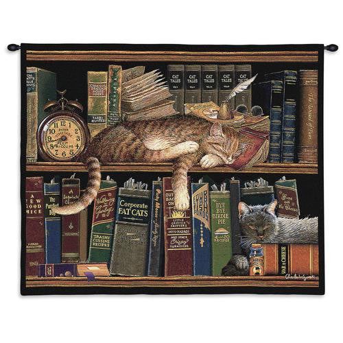 Remington Cat Woven Wall Hanging
