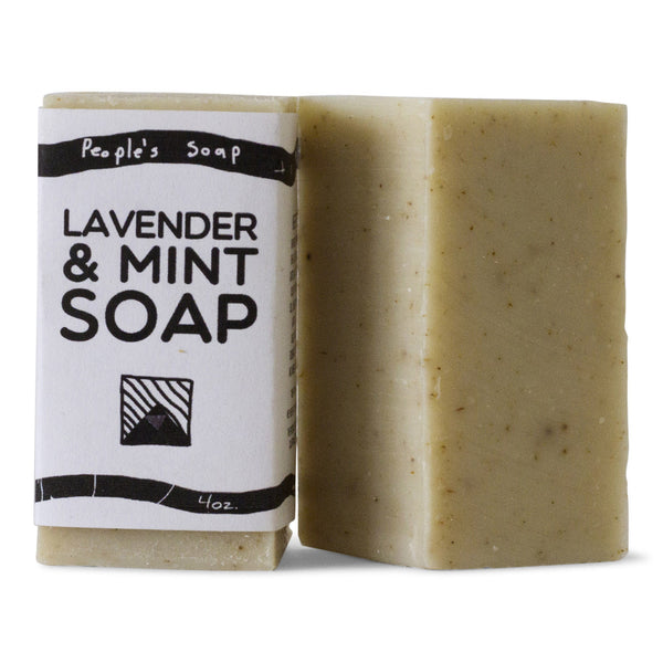 Lavender & Mint Soap with Crushed Organic Lavender