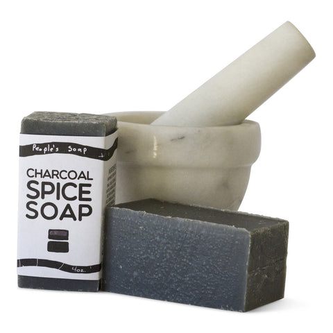Charcoal Spice Soap