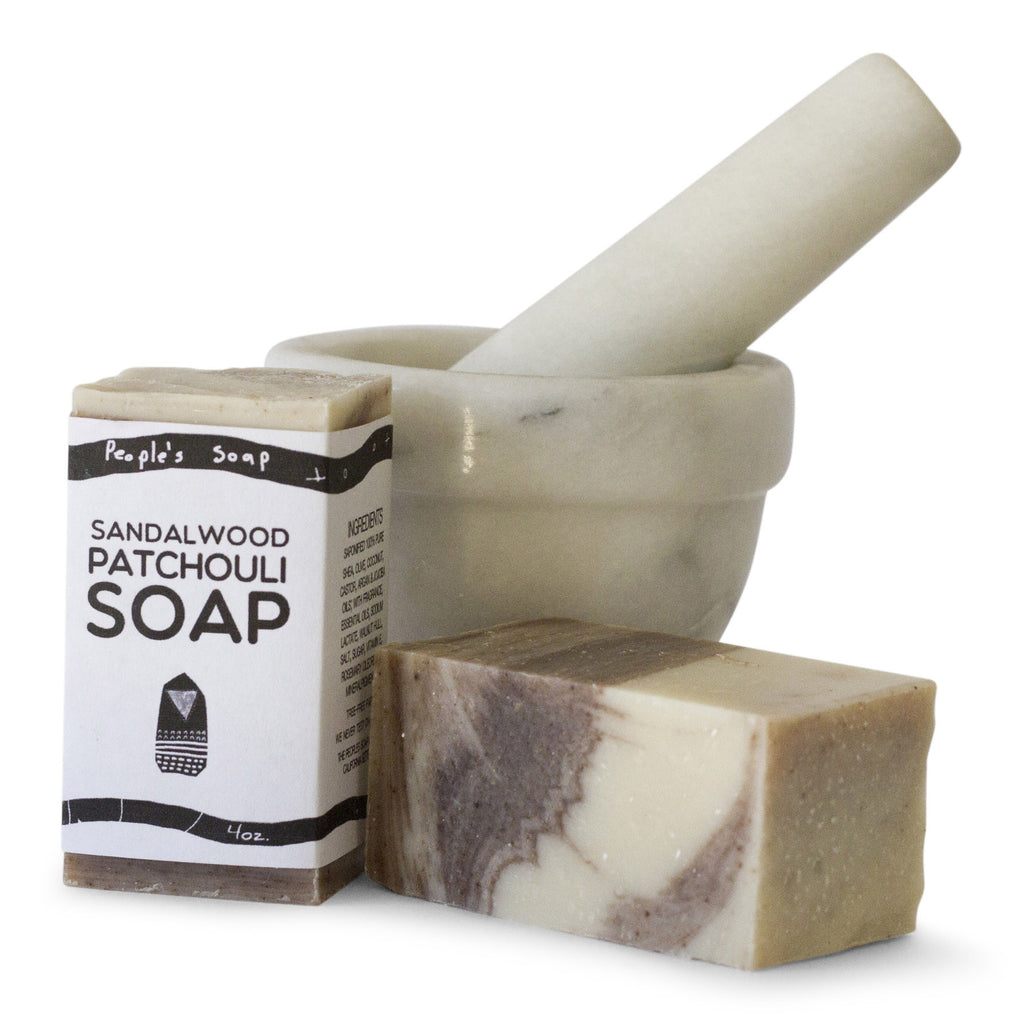 Sandalwood Patchouli Soap with Frankincense