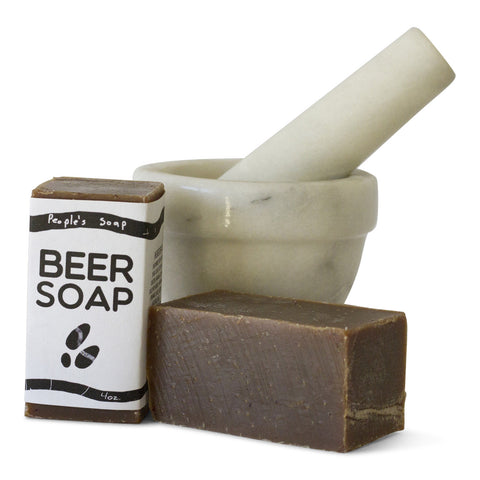 Beer Soap with Oatmeal Stout