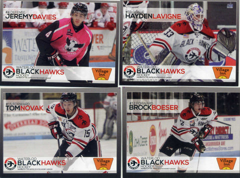 2014-15 Waterloo Blackhawks USHL - Rem Pitlick