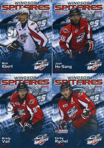 2012-13 Windsor Spitfires [OHL] # 10 Nick Ebert