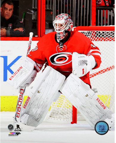 Cam Ward 8x10 Carolina Hurricanes Red Uniform