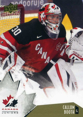2015-16 Upper Deck Team Canada  - Gold # 1 Callum Booth