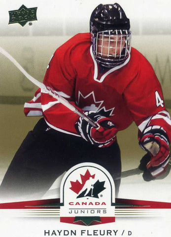 2014-15 Upper Deck Team Canada - Gold Sepia - #  29 Haydn Fleury