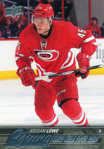 2015-16 Upper Deck - Young Guns # 246 Keegan Lowe