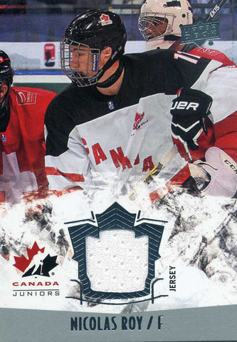 2015-16 Upper Deck Team Canada  - Jersey # 135 Nicolas Roy
