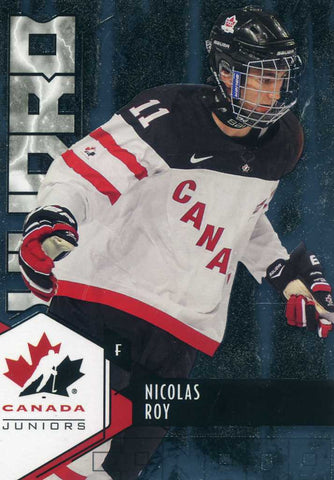 2015-16 Upper Deck Team Canada  - Hydro # H-21 Nicolas Roy