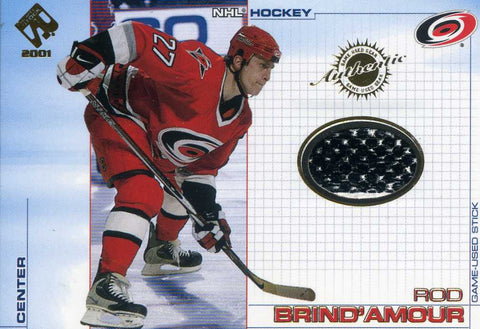 2000-01 Private Stock - Stick  # 12 Rod Brind'Amour