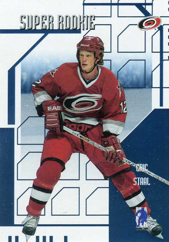 2003-04 Be A Player Memorabilia - Super Rookie # SR-9 Eric Staal