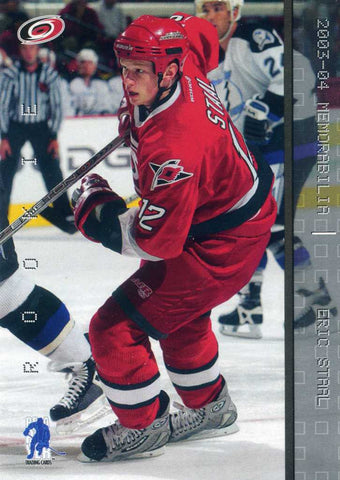 2003-04 Be A Player Memorabilia # 176 Eric Staal