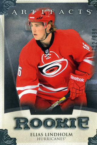 2013-14 Artifacts - Rookie # RED205 Elias Lindholm #/899