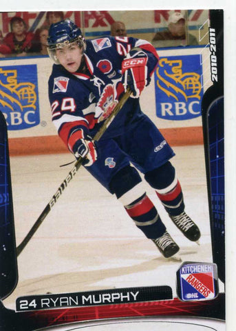2010-11 Kitchener Rangers (OHL) # 11 Ryan Murphy