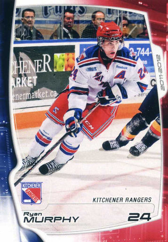 2011-12 Kitchener Rangers (OHL) # 9 Ryan Murphy