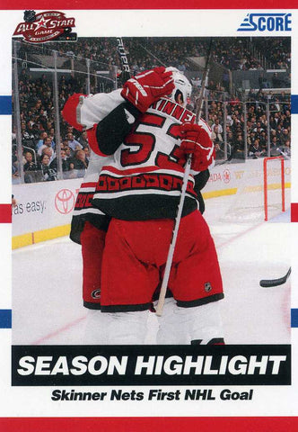 2010-11 Score - Hot Rookies - ALL STAR GAME PROMO -  # JS Jeff Skinner