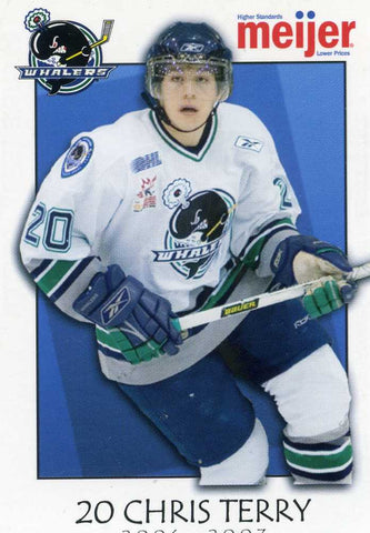 2006-07 Plymouth Whalers (OHL) - Chris Terry