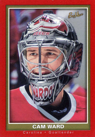 2005-06 Beehive - Rookie - Red # 117 Cam Ward