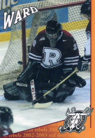 2003-04 Red Deer Rebels (WHL) Cam Ward