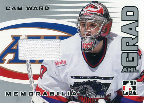 2005-06 In The Game Heroes & Prospects - AHL Grad - Jersey - # AG-09 Cam Ward
