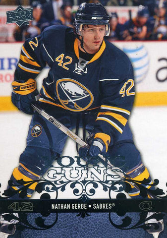 2008-09 Upper Deck - Young Guns - # 455 Nathan Gerbe