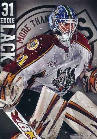 2012-13 Chicago Wolves (AHL)  # 22 Eddie Lack