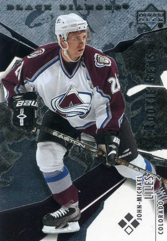 2003-04 Black Diamond  - Rookie Gems - # 160 John Michael Liles