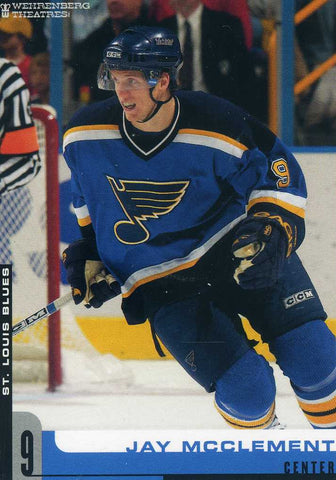 2005-06 St. Louis Blues - Team Issue # NNO Jay McClement