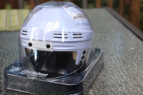 Carolina Hurricanes White Mini Helmet