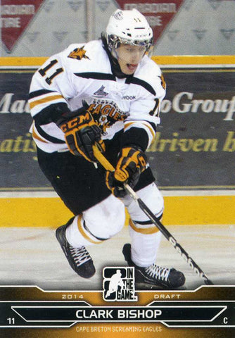 2014-15 In The Game – Draft Prospects  # 49 Clark Bishop