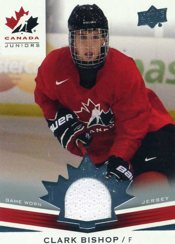 2014-15 Upper Deck Team Canada - Jersey -   # 173 Clark Bishop