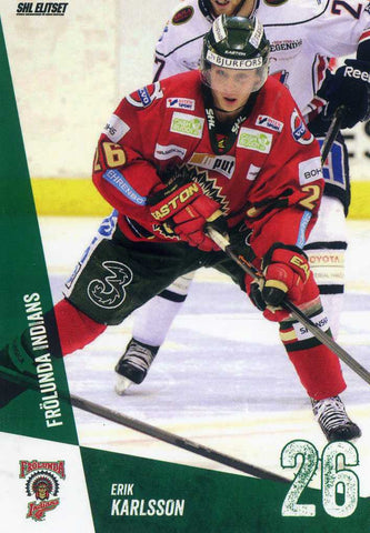 2014-15 Swedish Elite League # 35 Erik Karlsson
