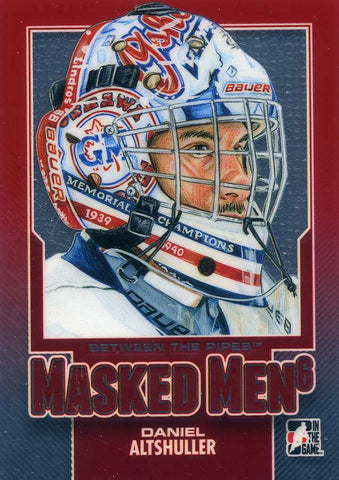 2013-14 In The Game – Between the Pipes – Masked Men - Daniel Altshuller