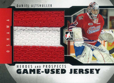 2011-12 In The Game – Heroes & Prospects Game Used Jersey Daniel Altshuller