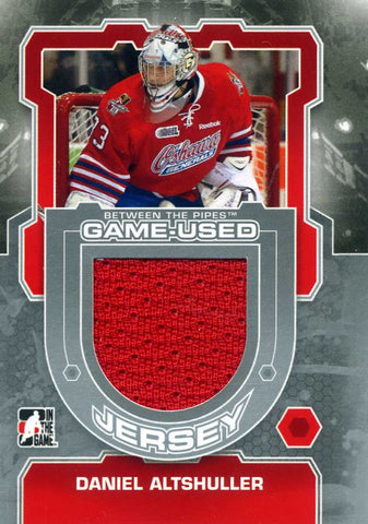 2012-13 In The Game – Between the Pipes – Game Used Jersey Daniel Altshuller