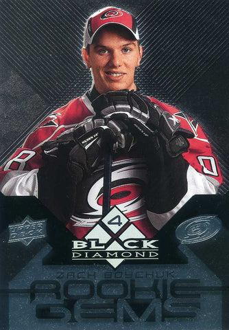 2008-09 Black Diamond  - Rookie Gems - # 202 Zach Boychuk