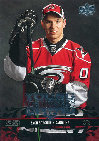 2008-09 Upper Deck - Young Guns - # 457 Zach Boychuk