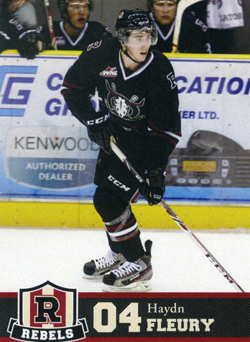 2013-14 Red Deer Rebels [WHL] Haydn Fleury