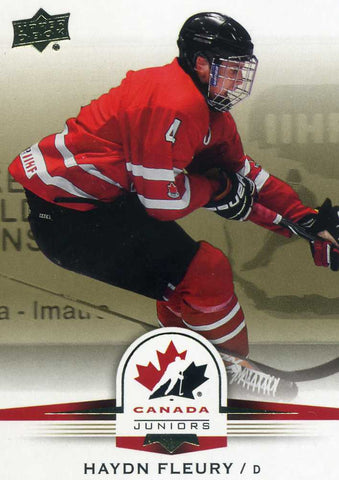 2014-15 Upper Deck Team Canada - Gold Sepia - #  115 Haydn Fleury
