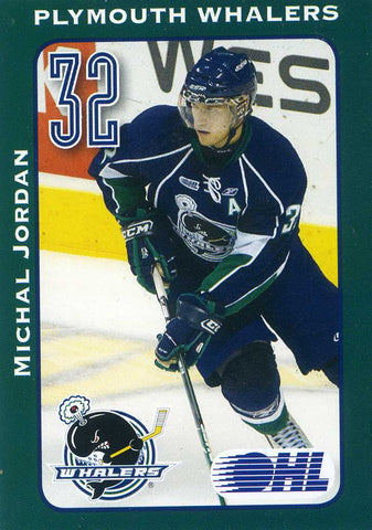 2009-10 Plymouth Whalers - Meijer [OHL] Michal Jordan