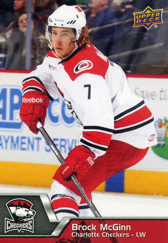 2014-15 Upper Deck AHL # 139 Brock McGinn